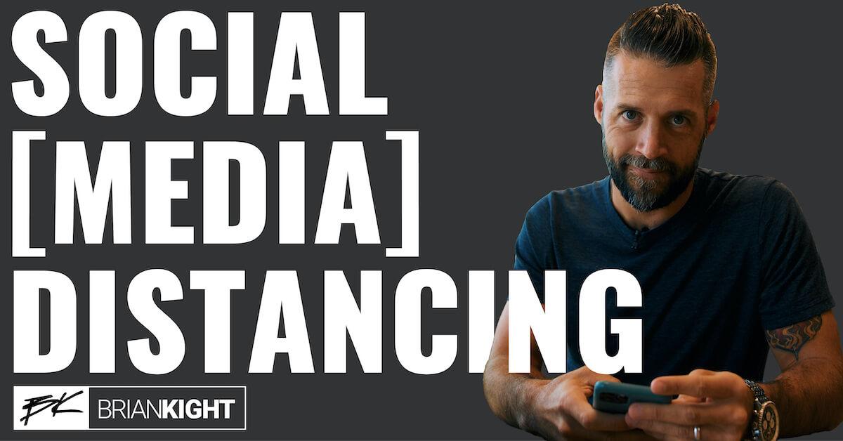 Social [Media] Distancing